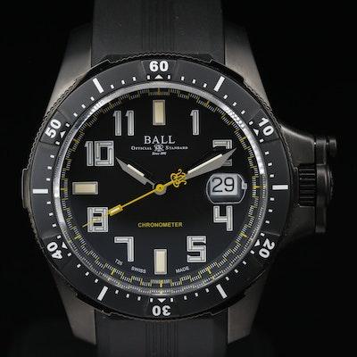Ball Engineer Hydrocarbon Black Titanium Automatic Wristwatch