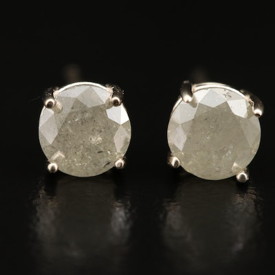 14K 1.17 CTW Diamond Stud Earrings