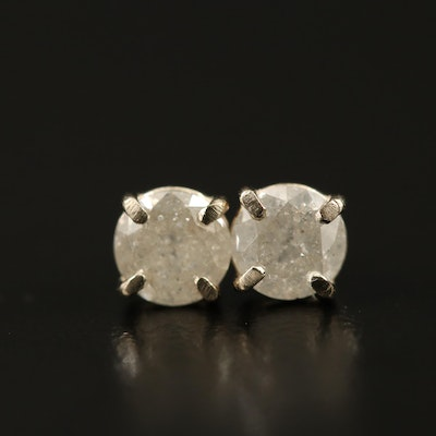14K 1.06 CTW Diamond Stud Earrings