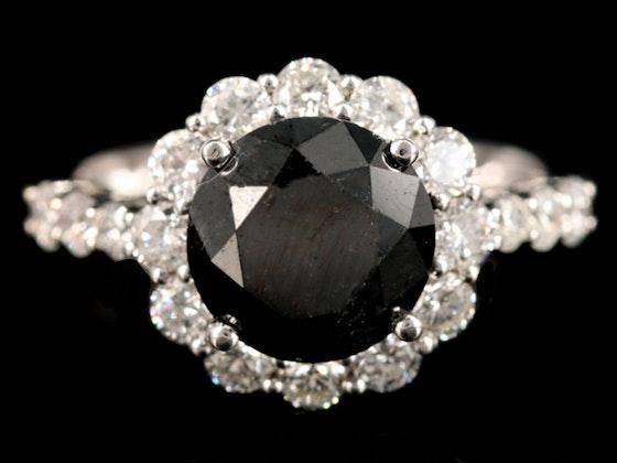 Fine Jewelry Featuring Black Diamonds & Onyx