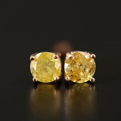 14K 0.43 CTW Diamond Stud Earrings