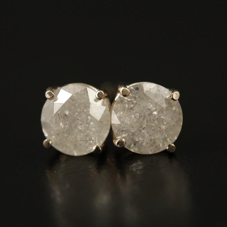 14K 1.57 CTW Diamond Stud Earrings