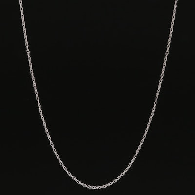 14K Singapore Chain Necklace