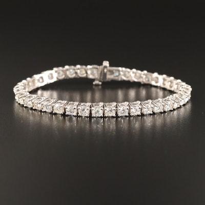 14K 8.85 CTW Diamond Line Bracelet