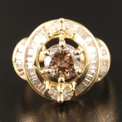 18K 2.87 CTW Diamond Ring