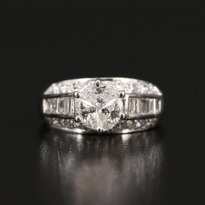 14K 1.89 CTW Diamond Ring