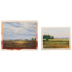 Marcus Brewer Pastel Drawings of Farmland
