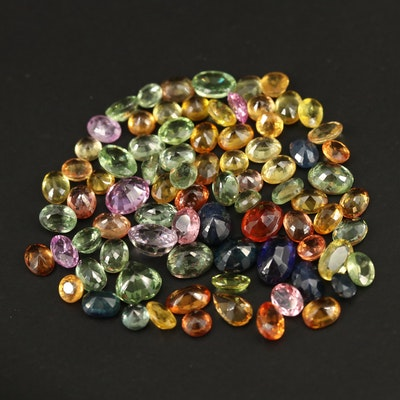 Loose 20.48 CTW Faceted Sapphires