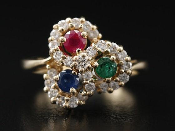 Opulence: Pearls, Emeralds, Rubies & Sapphires