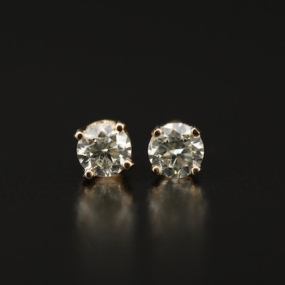 14K 0.54 CTW Diamond Stud Earrings