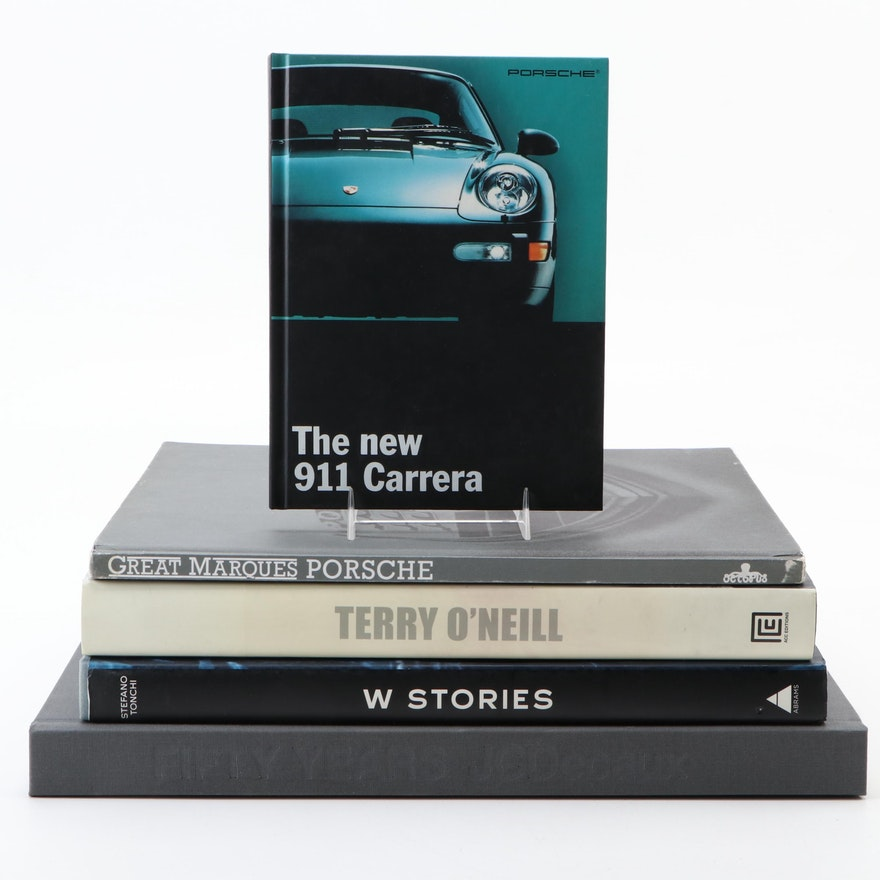 "Fashion and Automobile Books Including ""Terry O'Neill: The A–Z of Fame"""