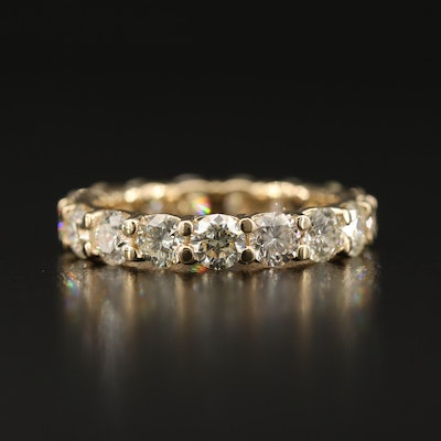 14K 4.25 CTW Diamond Eternity Band