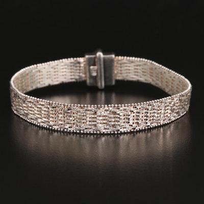 Sterling Silver Riccio Link Bracelet