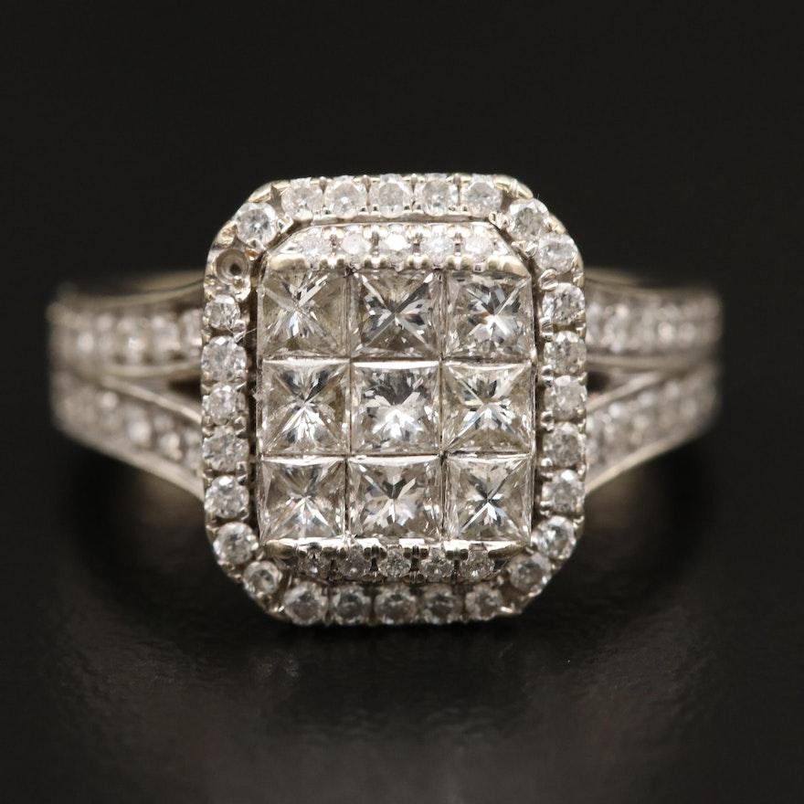 14K 1.49 CTW Diamond Ring
