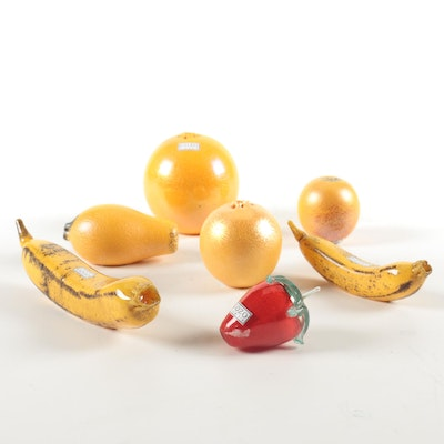 Gozo Maltese Art Glass Fruit Collection