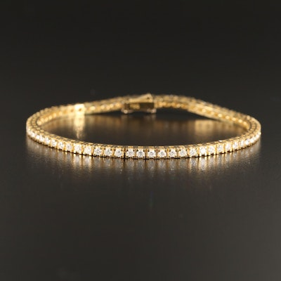18K 2.01 CTW Diamond Tennis Bracelet