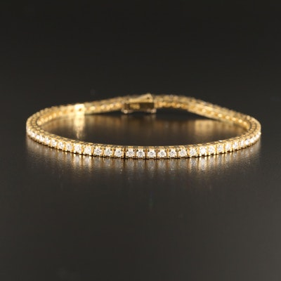 18K 2.01 CTW Diamond Tennis Bracelet