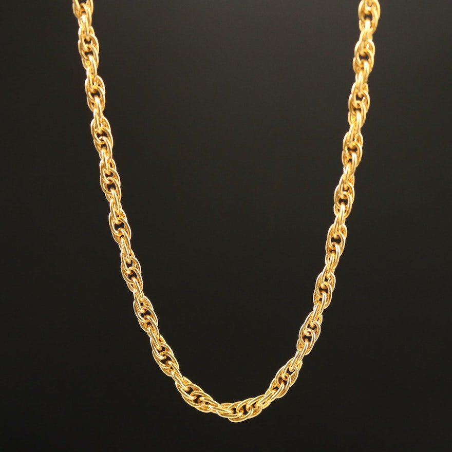 Rope Style Chain Necklace