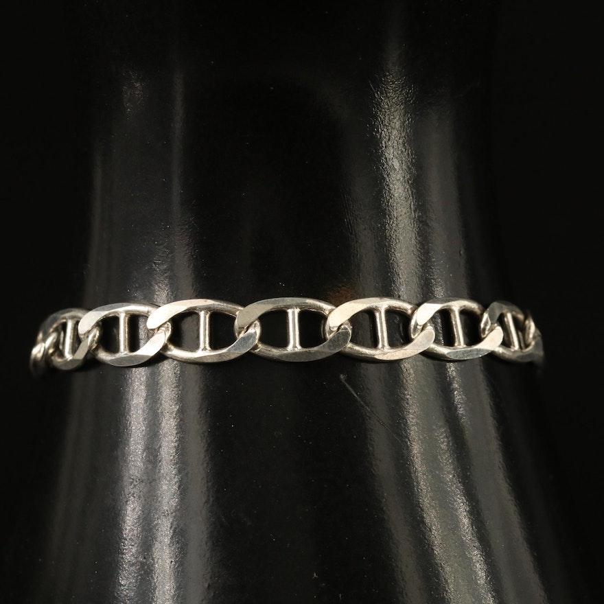 Sterling Mariner Link Bracelet