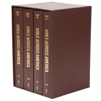 "NIV ""Bible Across America"" Handwritten Four-Volume Set"