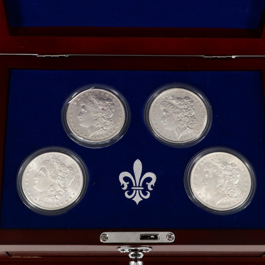New Orleans Mint Morgan Silver Dollars, Late 19th/Early 20th Century