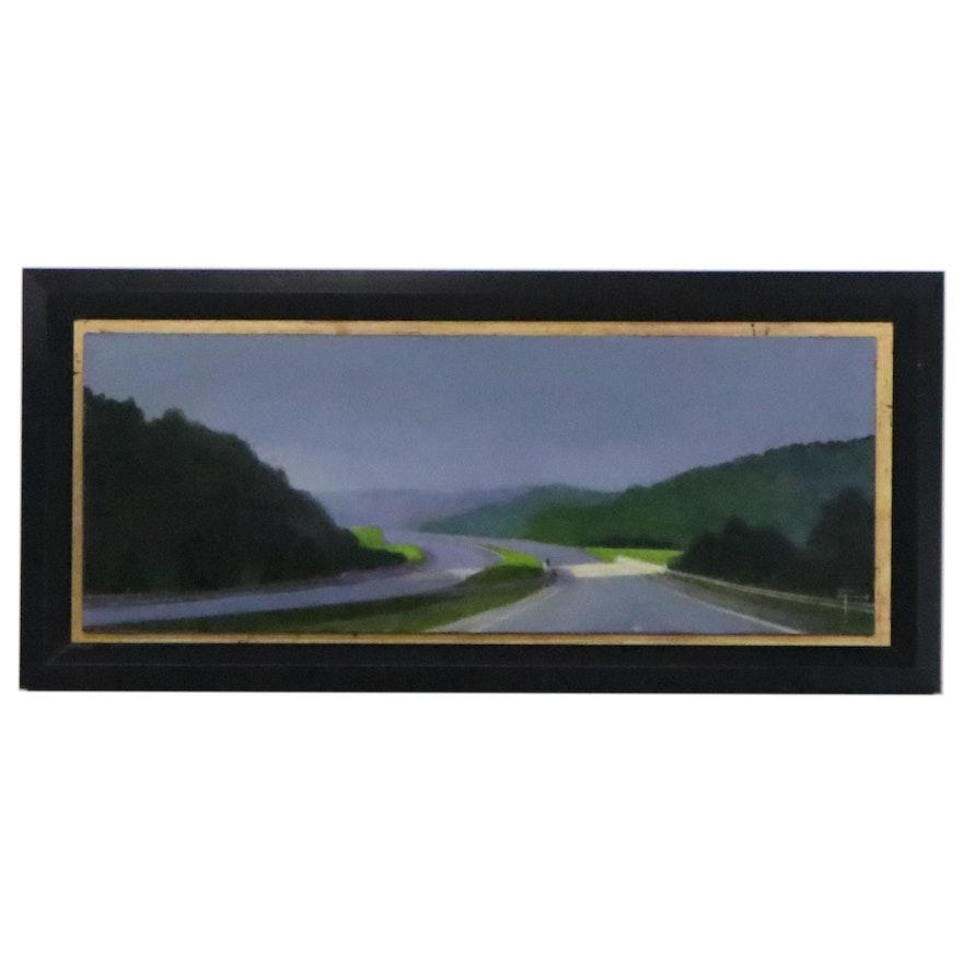 Shirley Findsen Landscape Oil Painting, 2003