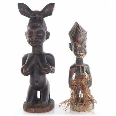 Yoruba Wooden Figures, Nigeria