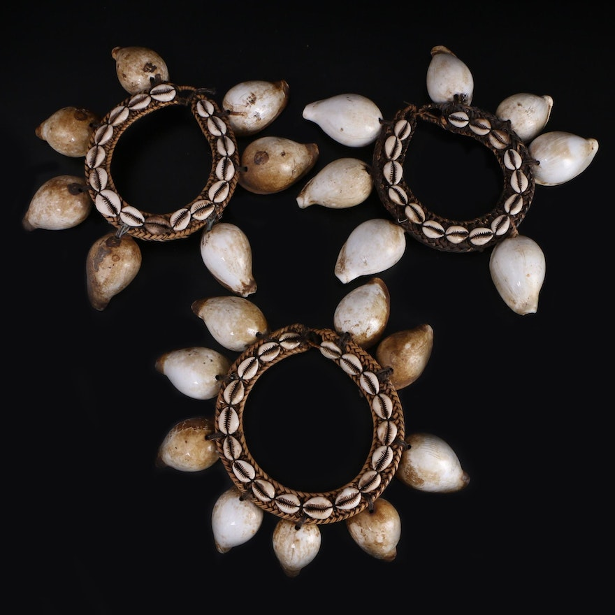 Indonesian Cowrie Shell Necklaces