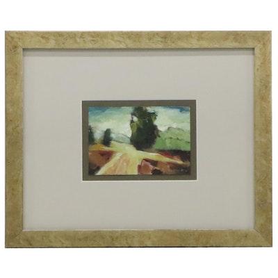 Shannon Godbey Landscape Acrylic Painting, 21st Century