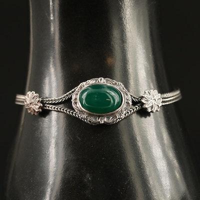 Sterling Chalcedony Bracelet