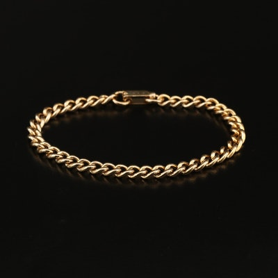 Curb Link Chain Bracelet