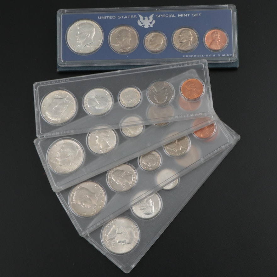 Five US Mint Uncirculated Coin Sets