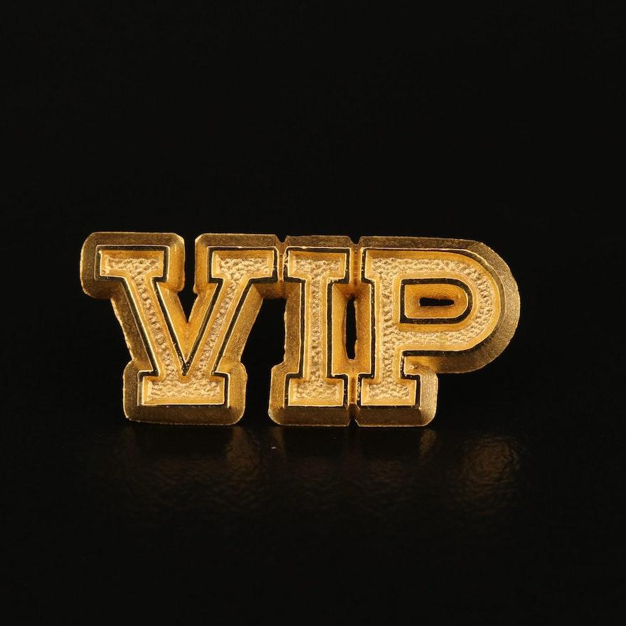 """""""VIP"""" Lapel Pin"""
