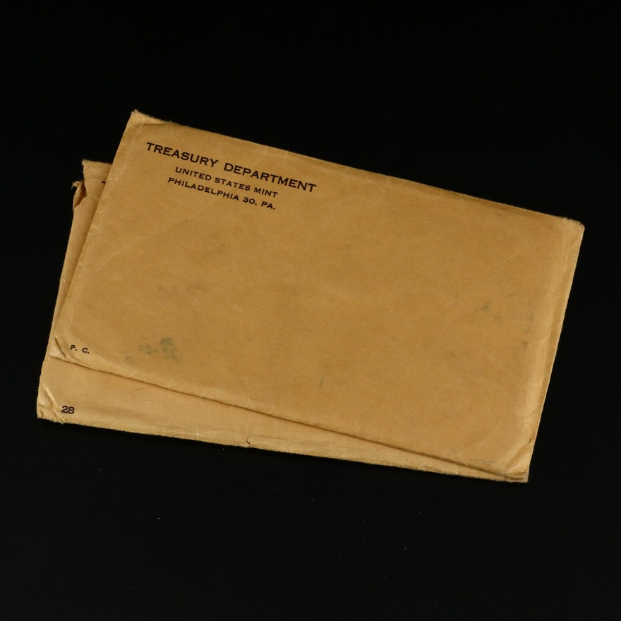 1957 and 1959 US Mint Proof Coin Sets