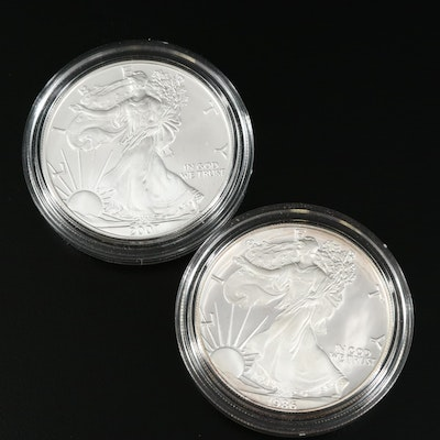 Uncirculated and Proof $1 American Silver Eagles