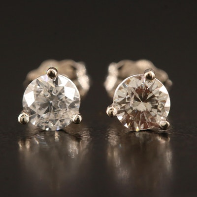 14K 0.65 CTW Diamond Stud Earrings