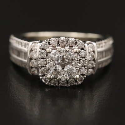 10K 1.00 CTW Diamond Ring