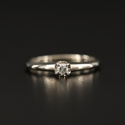 14K 0.07 CTW Diamond Ring