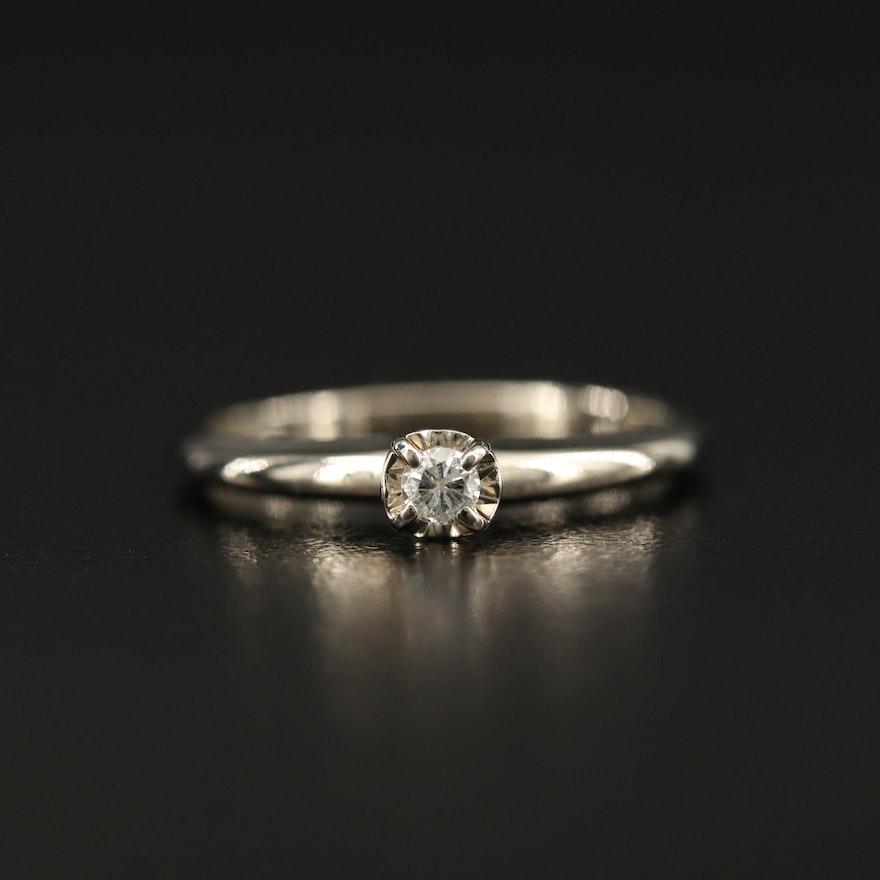 14K 0.07 CTW Diamond Ring