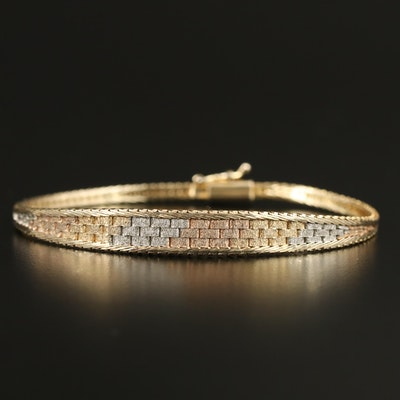 Sterling Tapered Bracelet