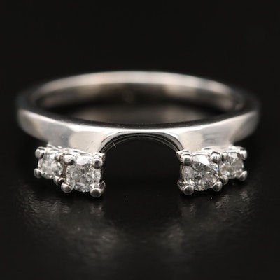 14K Diamond Enhancer Ring