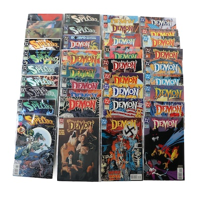 """""""The Spectre,"""" """"The Demon,"""" and """"World Without End"""" Comics"""