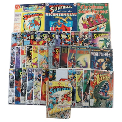 "Group of ""Superman"" and ""Action"" Comics"