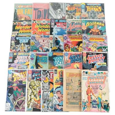 """Justice League,"" ""Wonder Woman,"" ""Legion,"" ""Aquaman,"" and Other DC Comics"