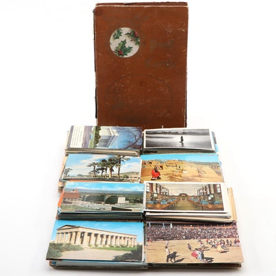 Holiday Souvenir Travel Postcards, Vintage and Antique
