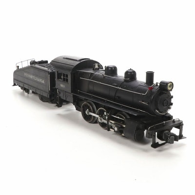 Lionel Pre War O Scale Pennsylvania 227 Steam Locomotive and 2227B Tender