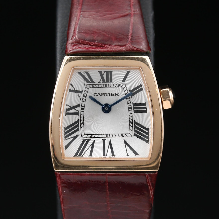Cartier La Dona 18K Yellow Gold Quartz Wristwatch