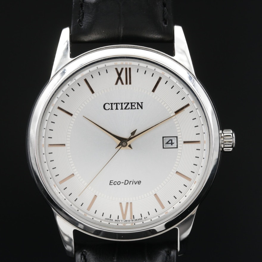 Citizen Eco - Drive Corso Stainless Steel Wristwatch
