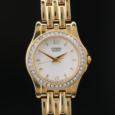 Citizen Mother of Pearl Dial Quartz Wristwatch