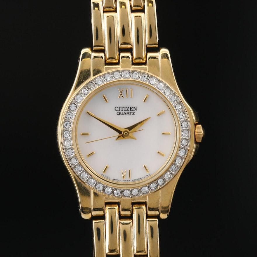 Citizen Mother of Pearl Dial Quartz Wristwatch